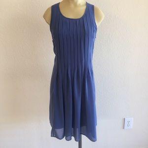 Zara Basic Blue Shift Dress size Medium!